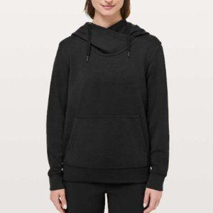 Lululemon NWOT City Sleek Hoodie Black Sz 6